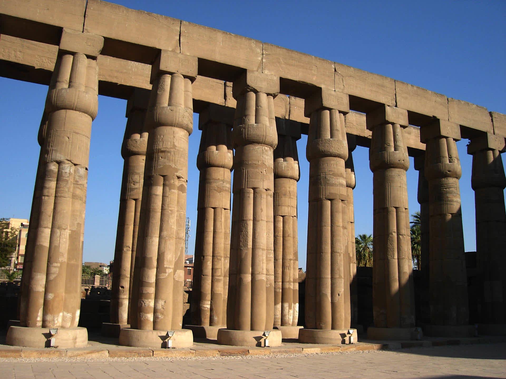 Luxor East bank